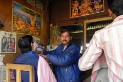 Barbier in Kathmandu
