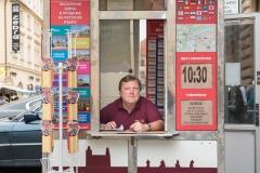 Ticketverkäufer in Prag
