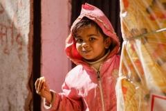 Kind in Thamel, Kathmandu