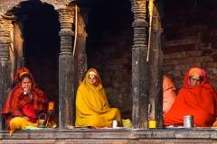 Heilige Frauen | Pashupatinath