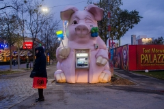 Bankomatenschweindi | Prater Wien