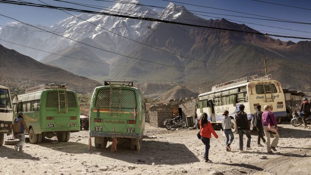 On the Way to Muktinath